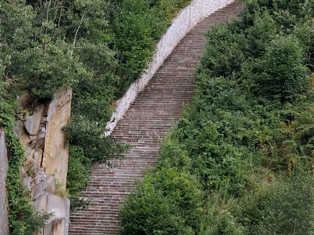 scalinata Mauthausen